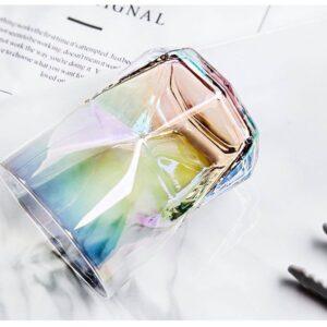 Regnbuefarvet vandglas - Svane, lille