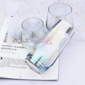 Regnbuefarvet glas - Stor, Safir