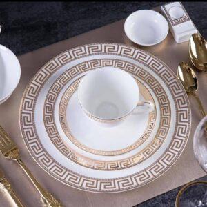 Cæsar - Guld tallerken sæt