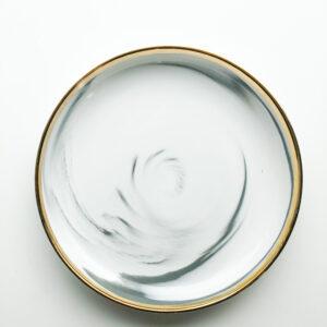 White marble -  Lille tallerken