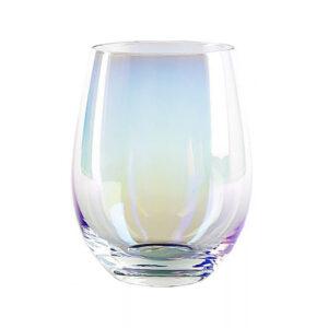 Regnbuefarvet glas 6 stk - Mellem, Safir
