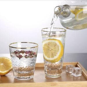 Vandglas- Rustik,lille