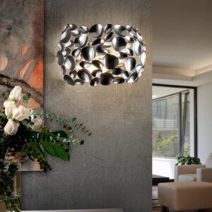 Schuller væglampe - Narisa, sølv