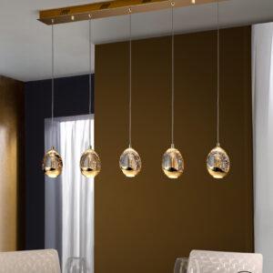 Schuller loftlampe - Rocio 5 LED lyskilder