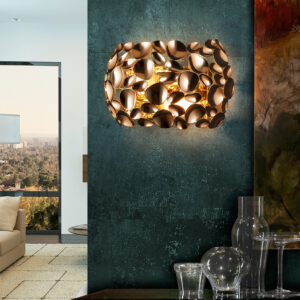 Schuller væglampe- Narisa, rosegold