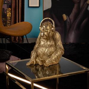 Guld skulptur - Orangutang