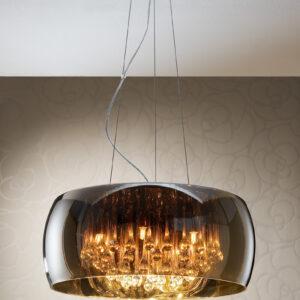 Schuller loftlampe - Argos 6 lyskilder. Fjernbetjening