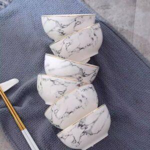 Nova - Marble skåle 3 stk
