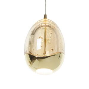 Schuller loftlampe - Rocio 14 lyskilder. Bluetooth, guld