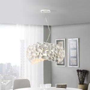 Schuller loftlampe - Narisa, 5 lyskilder hvid
