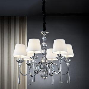 Schuller loftlampe - Mercury 6 lyskilder