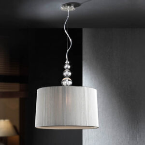 Schuller loftlampe - Mercury sølv, 3 lyskilder