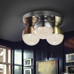 Schuller loftlampe - Sphere 3 lyskilder, forskelige farver