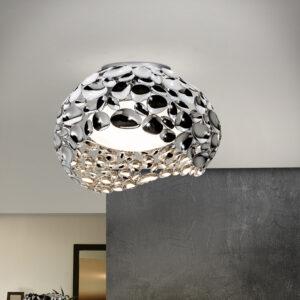 Schuller loftlampe - Narisa, 5 LED lyskilder sølv