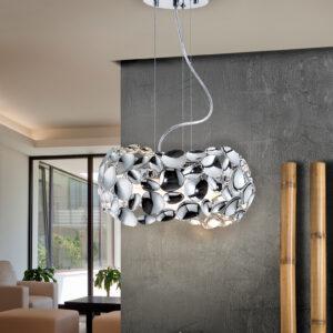 Schuller loftlampe - Narisa 3 led, sølv