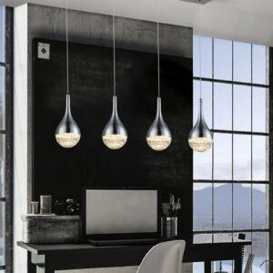 Schuller loftlampe - Elie 4 lyskilder