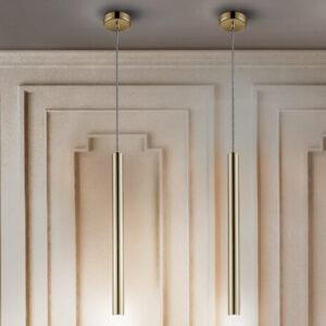 Schuller loftlampe - Varas 1 lyskilder, guld