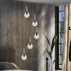 Schuller loftlampe - Elie 5 lyskilder