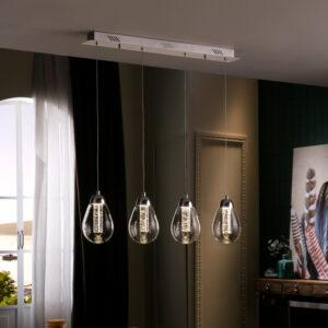 Schuller loftlampe - Taccia 4 lyskilder