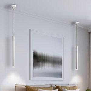 Schuller loftlampe - Varas 1 lyskilder, mat hvid