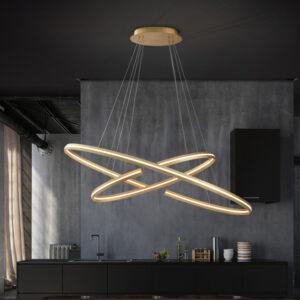 Schuller hængelampe - Elipse 120x60 cm
