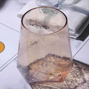 Vandglas brunfarvet  - Grove