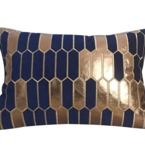 Pudebetræk, Blå - Lucca 30x50 cm