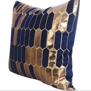 Pudebetræk, Blå - Lucca 50x50 cm