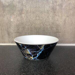 Black marble - Skål