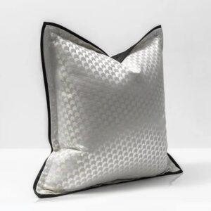 Pudebetræk - Silver 45x45 cm
