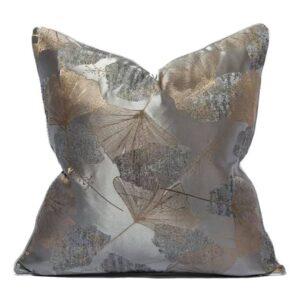 Pudebetræk, Sølv - Havanna 45x45 cm