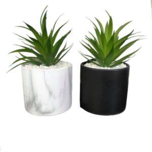 Potte sæt, Kunstig plante - Lisa