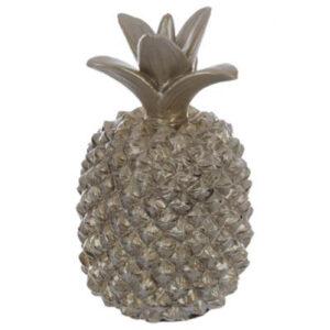 Ananas Skulptur - Guld