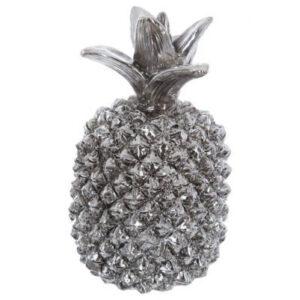 Ananas skulptur - Sølv