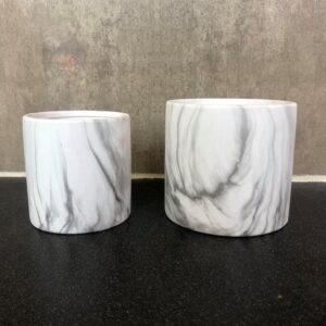 Marble potte sæt - Lisa