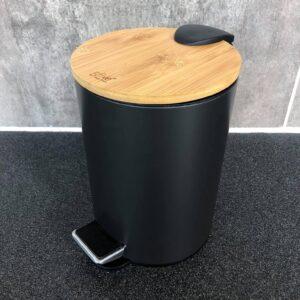 Toiletspand- Woody, sort