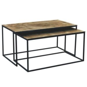 C´est Bon sofabord - Oxideret, rektangulær