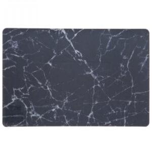 Dækkeservietter - Sort Marble, 45x30 cm