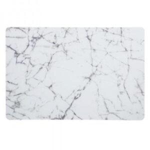 Dækkeservietter - White marble, 45x30 cm