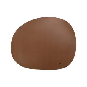 RAW Organic dækkeserviet silikone - Mokka 41 x 33,5 cm. 4 stk.