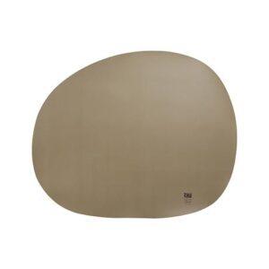 RAW Organic dækkeserviet silikone - Jordfarve 41 x 33,5 cm. 4 Stk.