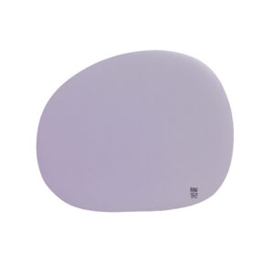 RAW Organic dækkeserviet silikone - Pastel berry 41 x 33,5 cm. 4 Stk.