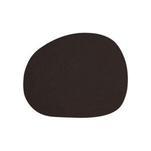 RAW buffalo dækkeserviet 95% genbrugslæder - Brun 41 x 33,5 cm. 4 Stk.