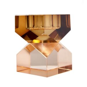 C'est Bon - Krystal stage, lysebrun/peach, 8,5x6x6 cm