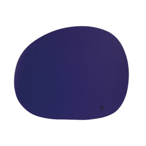 RAW Organic dækkeserviet - Azure blue silikone 41 x 33,5 cm. 4 Stk.