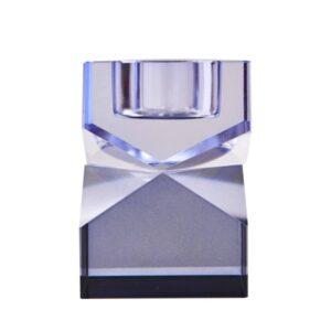 C'est Bon - Krystal stage, blå, 8,5x6x6 cm