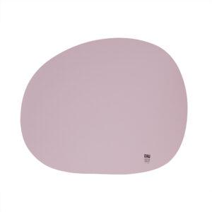 RAW Organic dækkeserviet - Happy lilac silikone 41 x 33,5 cm. 4 Stk.
