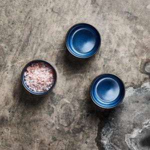 Aida RAW Midnight Blue - mini skål 3 stk