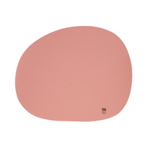 RAW Organic dækkeserviet - Pink sky silikone 41 x 33,5 cm. 4 Stk.