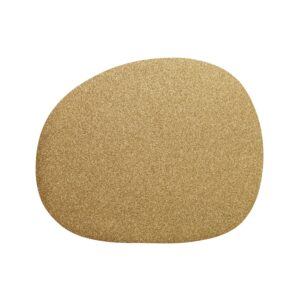 RAW Organic dækkeserviet - Guld 41 x 33,5 cm. 4 Stk.